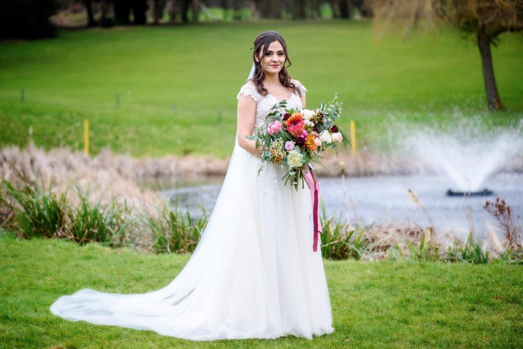English Wedding Photos at Westerham Golf Club