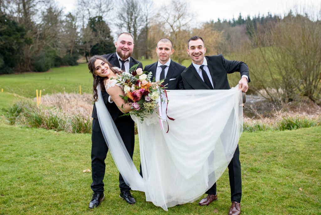 Romanian Wedding Photos Westerham Golf Club London