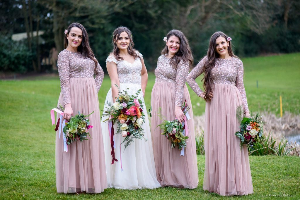 Romanian Wedding Photos at Westerham Golf Club