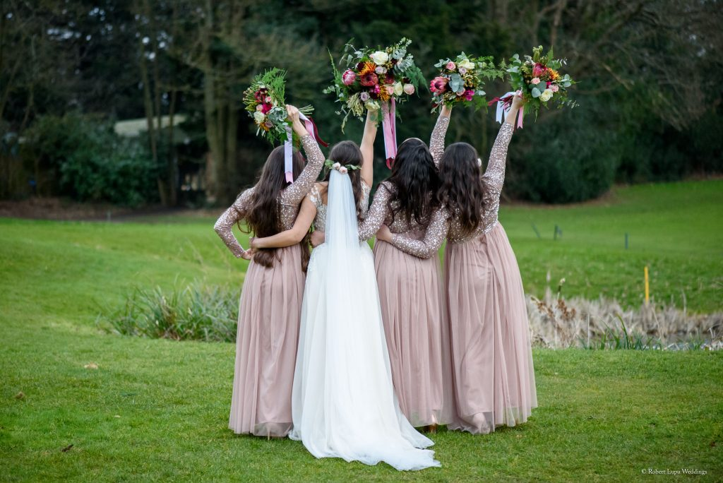 English Wedding Photos at Westerham Golf Club