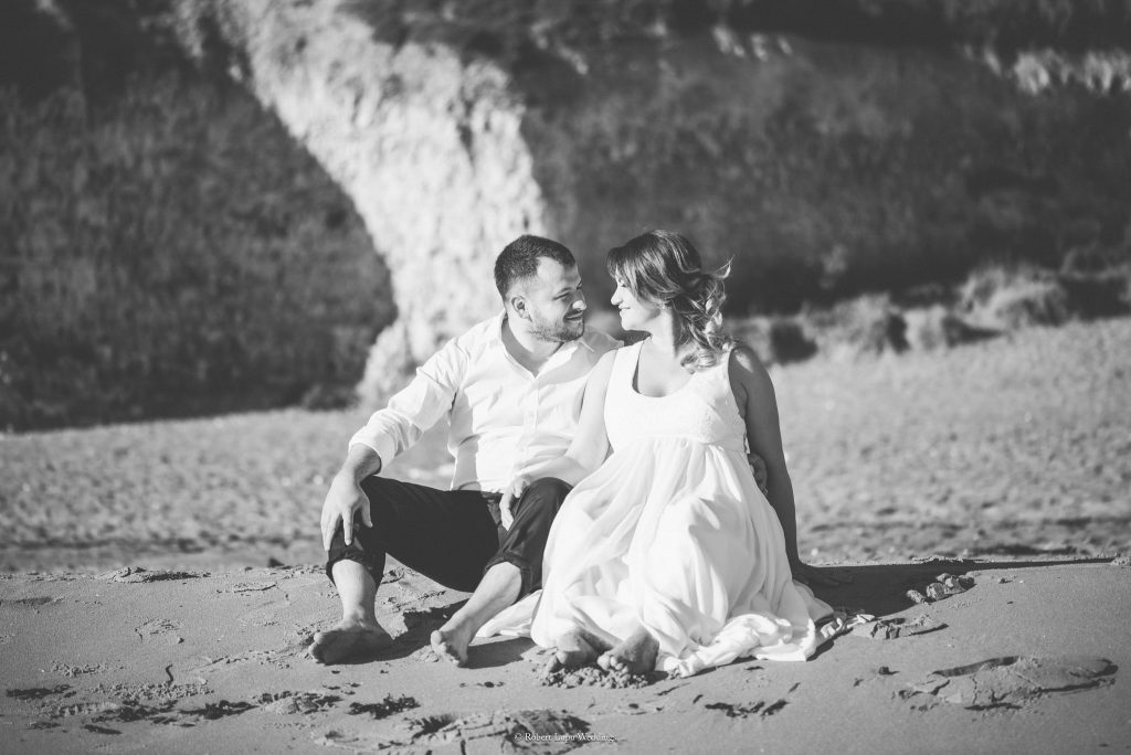 Romanian Wedding Trash The Dress in Botany Bay