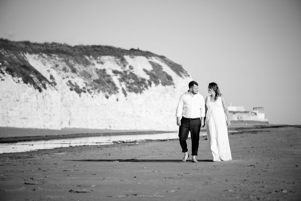 English Wedding Trash The Dress in Botany Bay