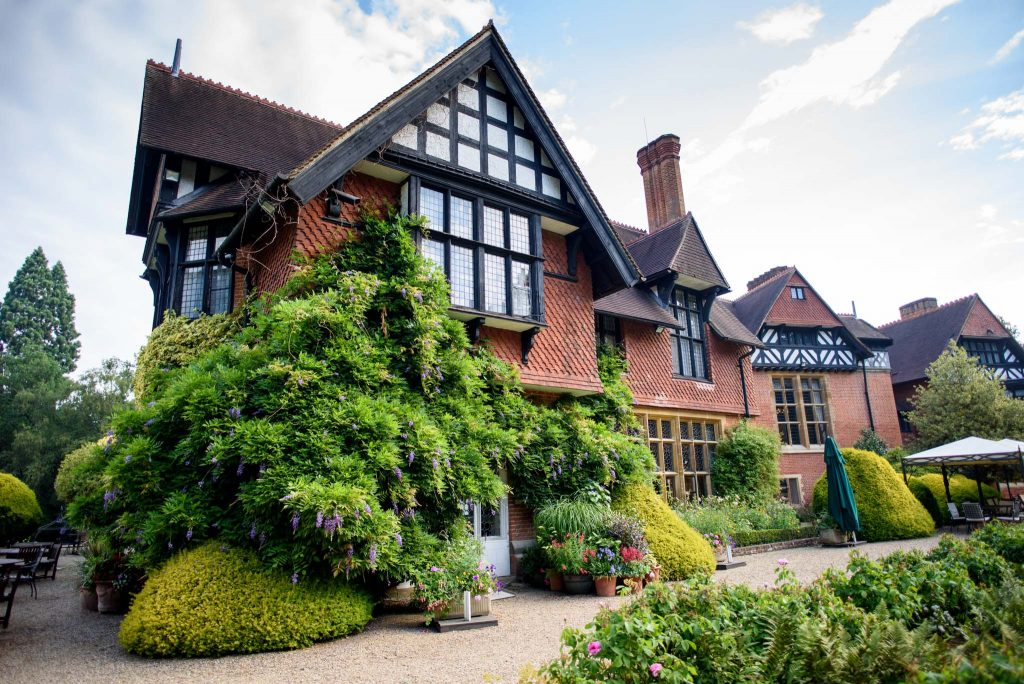 English Wedding Photos at Grims Dyke Hotel