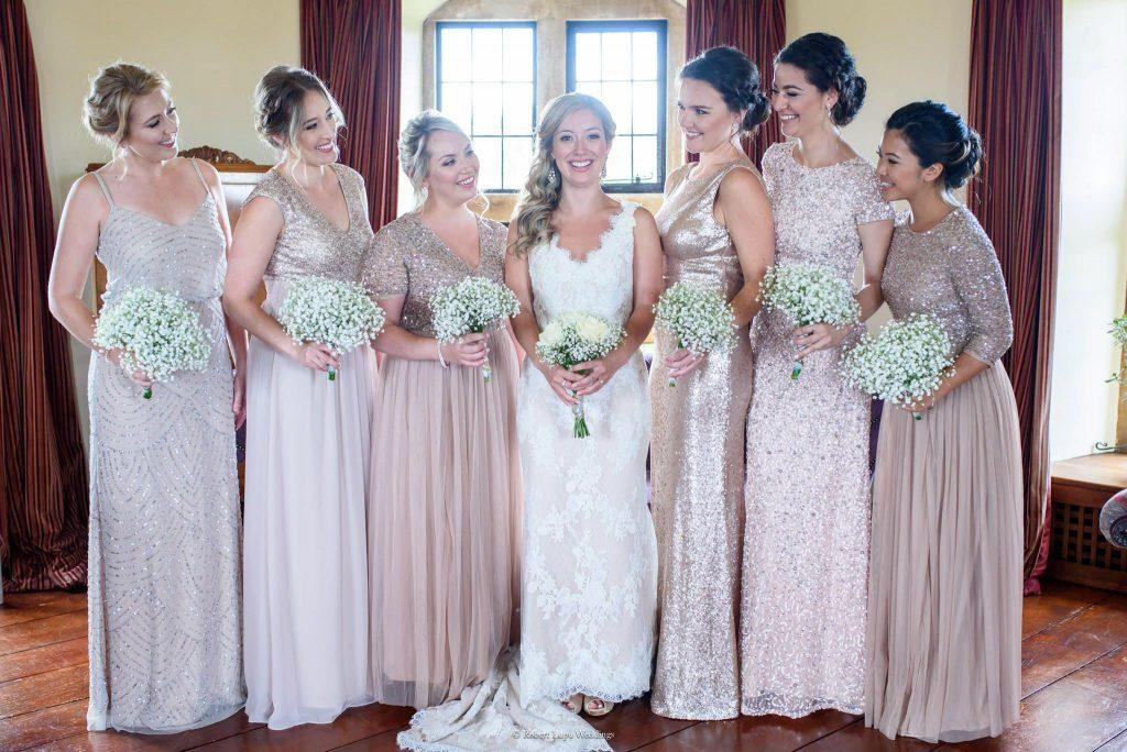 English Wedding Photos at Walton Castle
