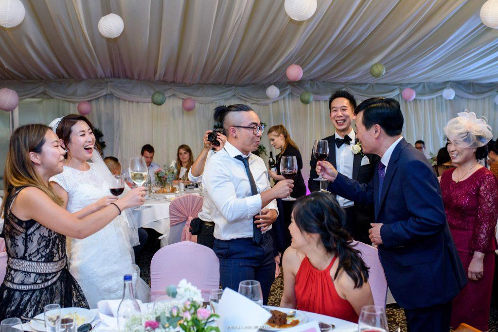 Korean Wedding Photos at New Hall Hotel Spa