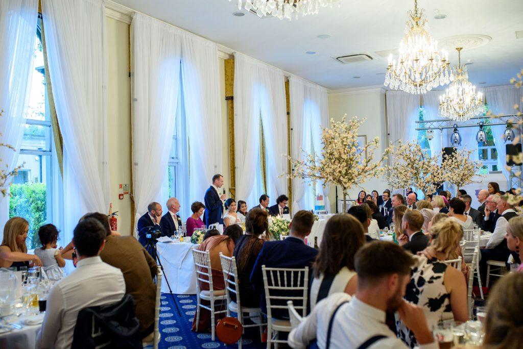 English Wedding Photos at The Spa Hotel