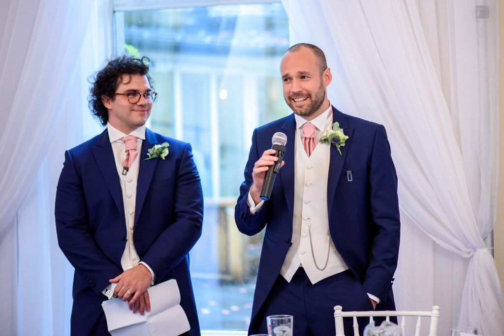 The Spa Hotel Wedding Day
